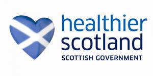 Healthier Scotland logo